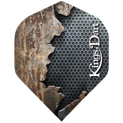 "Kings Dart® Flight ""Metall"" Rost"