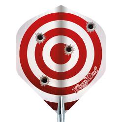 """Kings Dart® Dart Flight """"Warning"""""""