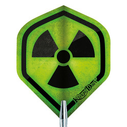"Kings Dart® Flight ""HD 100"" Radioactive"