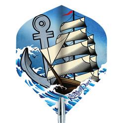 "Kings Dart® Dart Flight ""Tattoo"" Ship"