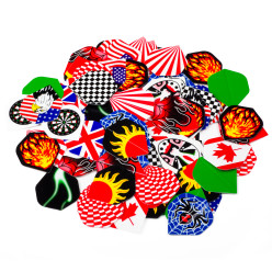 "Kings Dart® Dart-Flights ""Super-Sparpaket"""