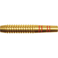 Kings Dart® Dart-Barrel Messing rot-goldfarben