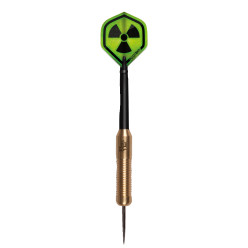 "Kings Dart® Steeldartpfeil ""Radioactive"""