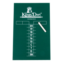 Kings Dart® Kreidetafel