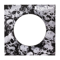 Kings Dart® Dartboard Surround Skull