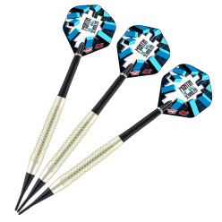 "Bull's NL Softdartpfeil ""Martin Schindler The Wall Nickel Silver"""