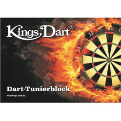 Kings Dart® Dart-Turnierblock