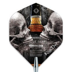"Kings Dart Dart Flight ""Skull'n'Whisky"""