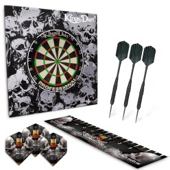 "Kings Dart Set ""Skull 'n' Whisky"""