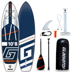 "Gladiator Stand Up Paddling Board Set ""Elite 2021 10.8"""