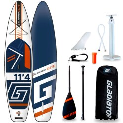 "Gladiator Stand Up Paddling Board Set ""Elite 2021 11.4"""