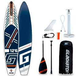 "Gladiator Stand Up Paddling Board Set ""Elite 2021 12.6 T"""