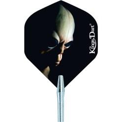 """Kings Dart® Dart Flight """"HD 150"""" Demon Skull"""