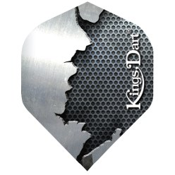 "Kings Dart® Flight ""Metall"" Stahl"