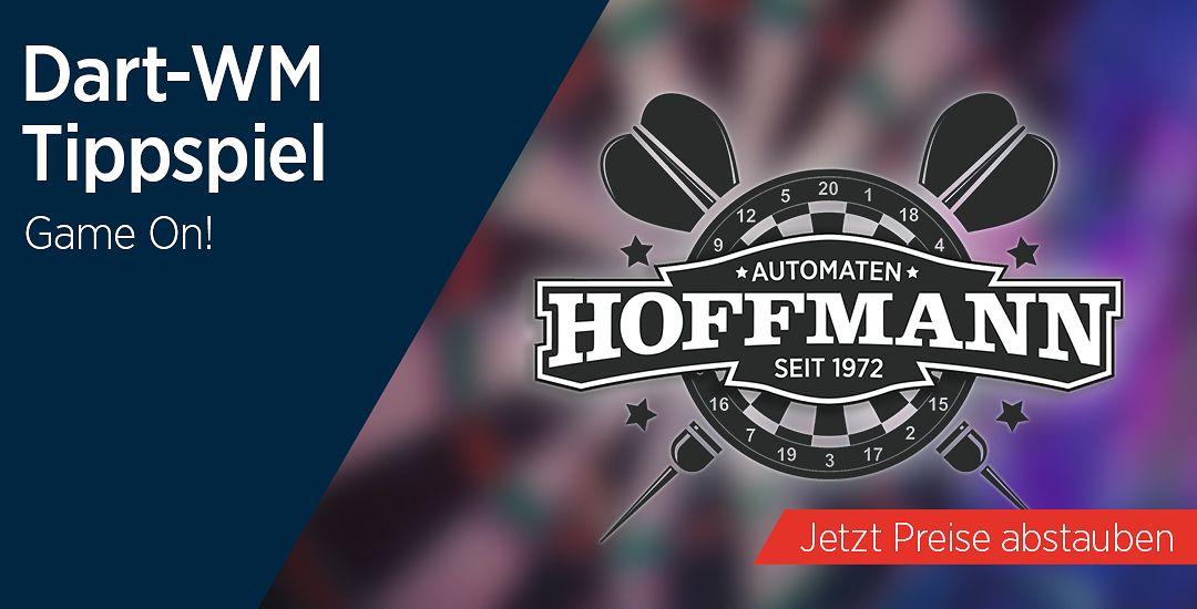 Das große Dart-WM Tippspiel bei Automaten Hoffmann